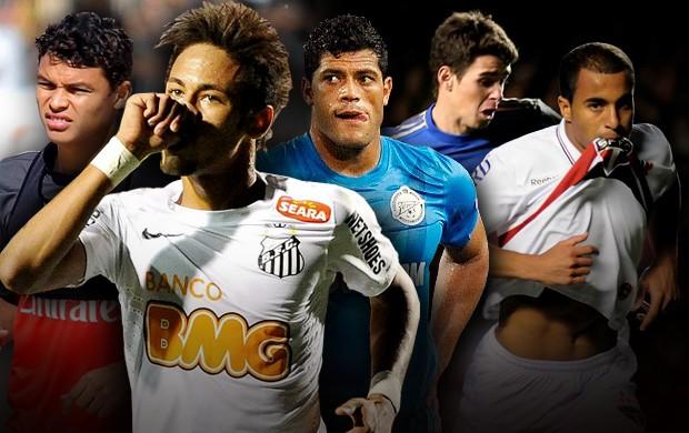 os jogadores mais valiosos de 2012