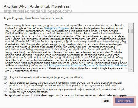 cara daftar adsense google langkah 5