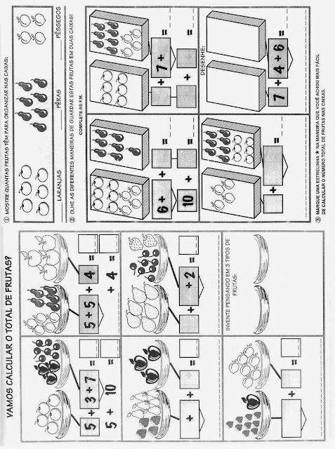 Atividades de Matemática para o 2º Ano.Ensino Fundamental, Atividades de matemática, Atividades para imprimir.