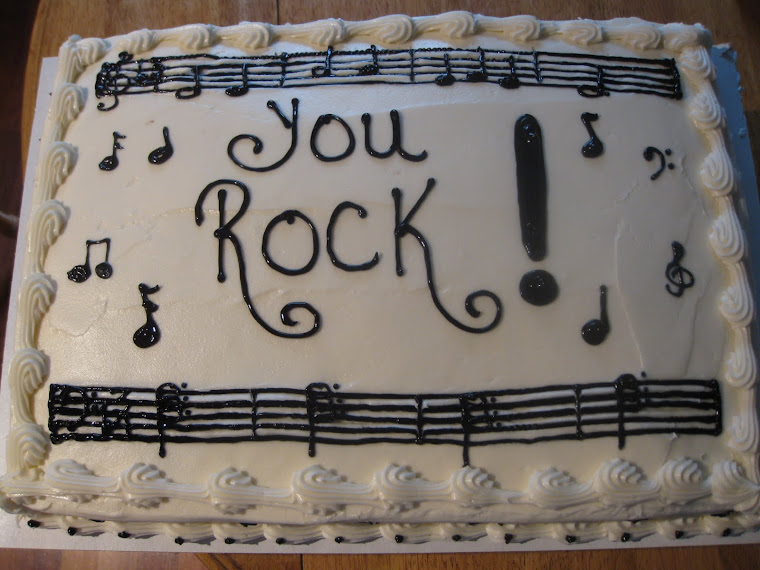 The Music cake!