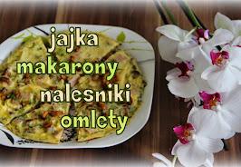 Obiad na bazie mąki/jajek/wegetariański