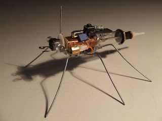 robotic daddy long legs spider