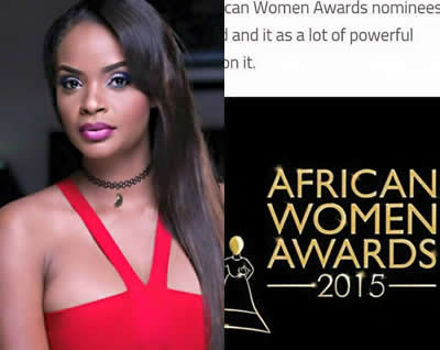 Dillish Mathews Nominated In African Women Awards 2015