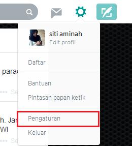 Cara Mengganti Email Twitter