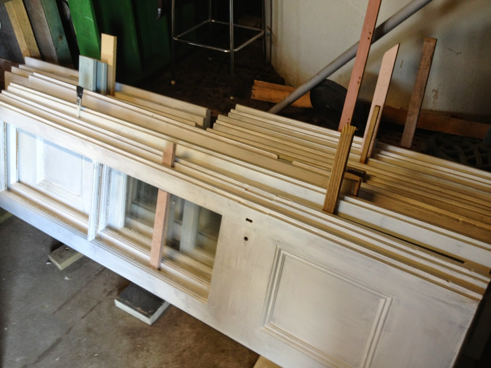 Soon to be the internal laundry door & Renovating a Queenslander: Reduce reuse recycle - renovating with ...