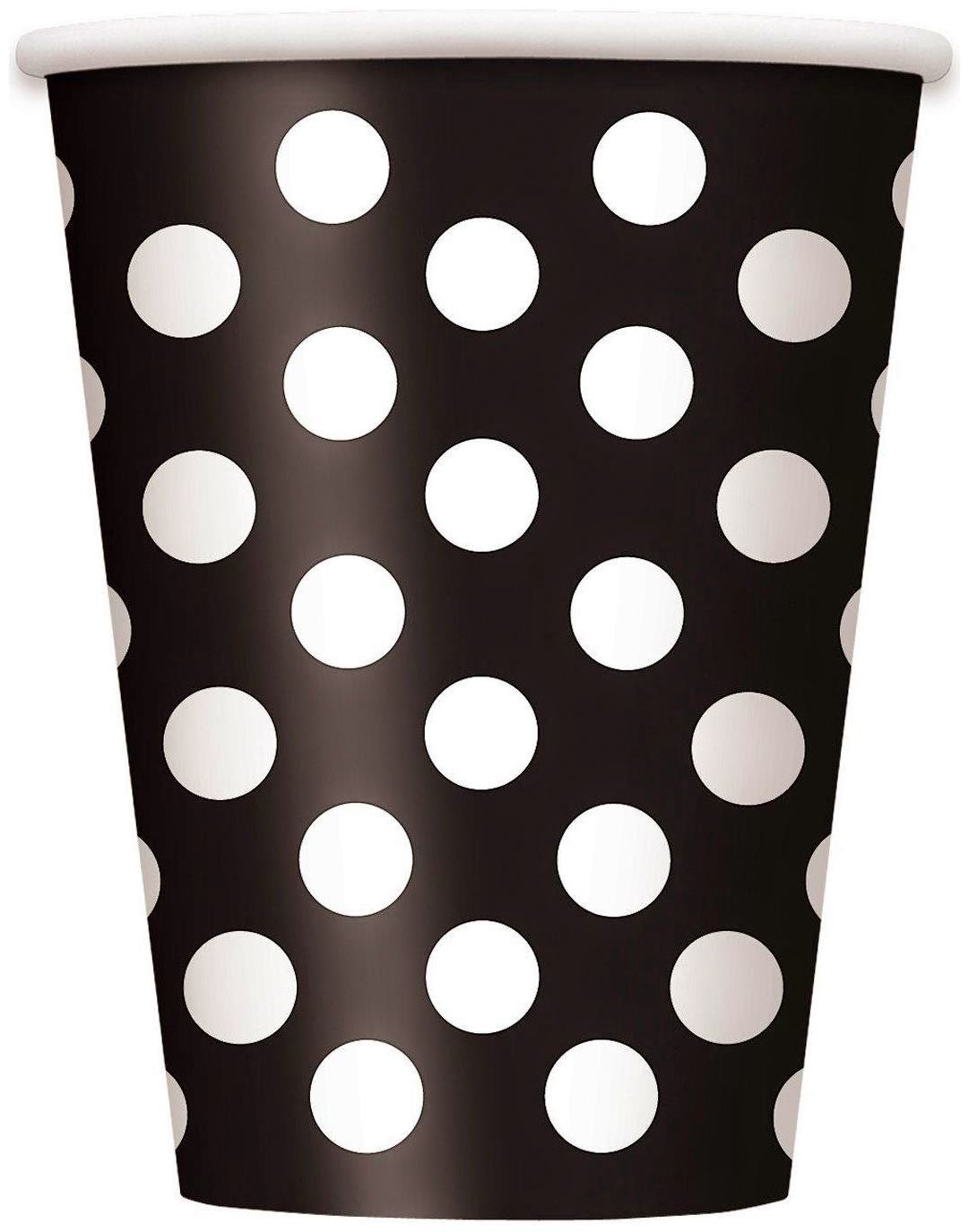 black-white-dots-cups