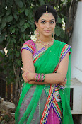 Actress Anjali Rao in Half Saree-thumbnail-9