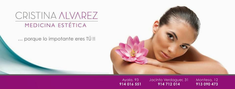 Cristina Alvarez, estetica, belleza, tratamientos corporales, aparatología