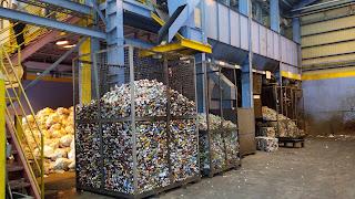 pabrik penggelolaan sampah daur ulang Nishihara