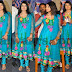 Tamil Actress in Embroidered Salwar