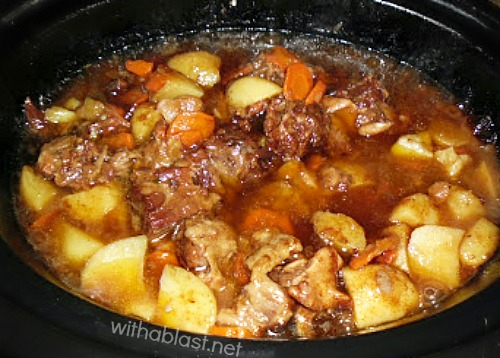 The BEST Slow-Cooker Oxtail recipe ever !