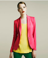 Must Have Item  (Zara Candy Blazer )