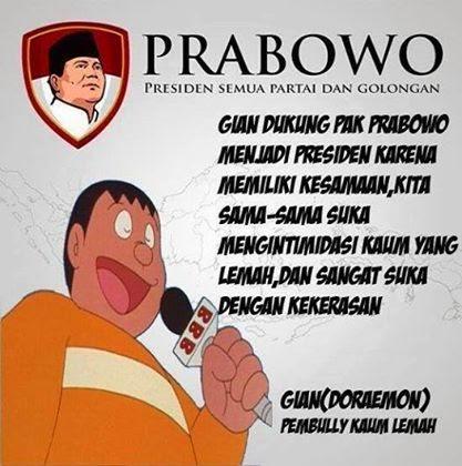 Testimoni Giant tentang Prabowo
