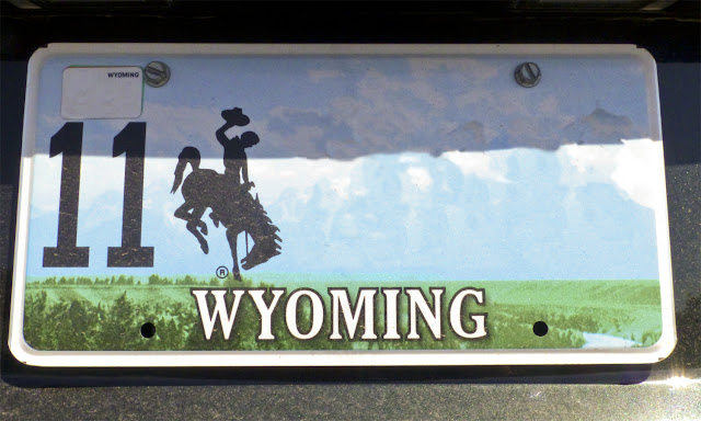 Matrícula de Wyoming por El Guisante Verde Project