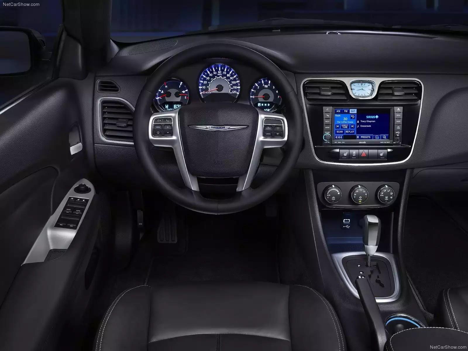 Hình ảnh xe ô tô Chrysler 200 Convertible 2011 & nội ngoại thất