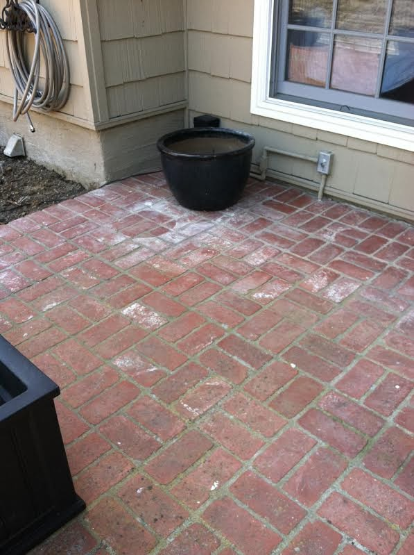 Newport Beach Power Washing Before Picture
