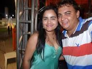 Eu e Mara Pavanelly Cantora da Banda Furacão do Forró