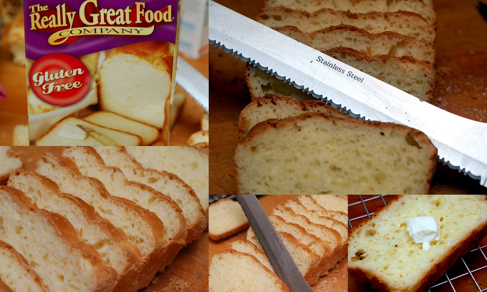 GLUTEN FREE HUGS & COOKIES XO: DELICIOUS GLUTEN FREE BREAD!