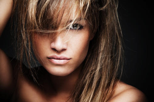 Blonde highlights - Type Pictures