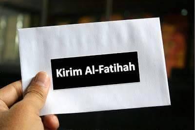 BACAAN AL-FATIHAH ATAS ORANG YANG TELAH MENINGGAL
