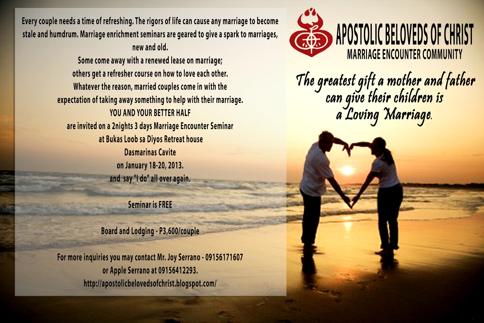 weekend marriage Love your relationship offers clients 2-day weekend colorado couples retreats led by nationally recognized marriage and relationship researcher, author and marriage counselor dr howard markman.