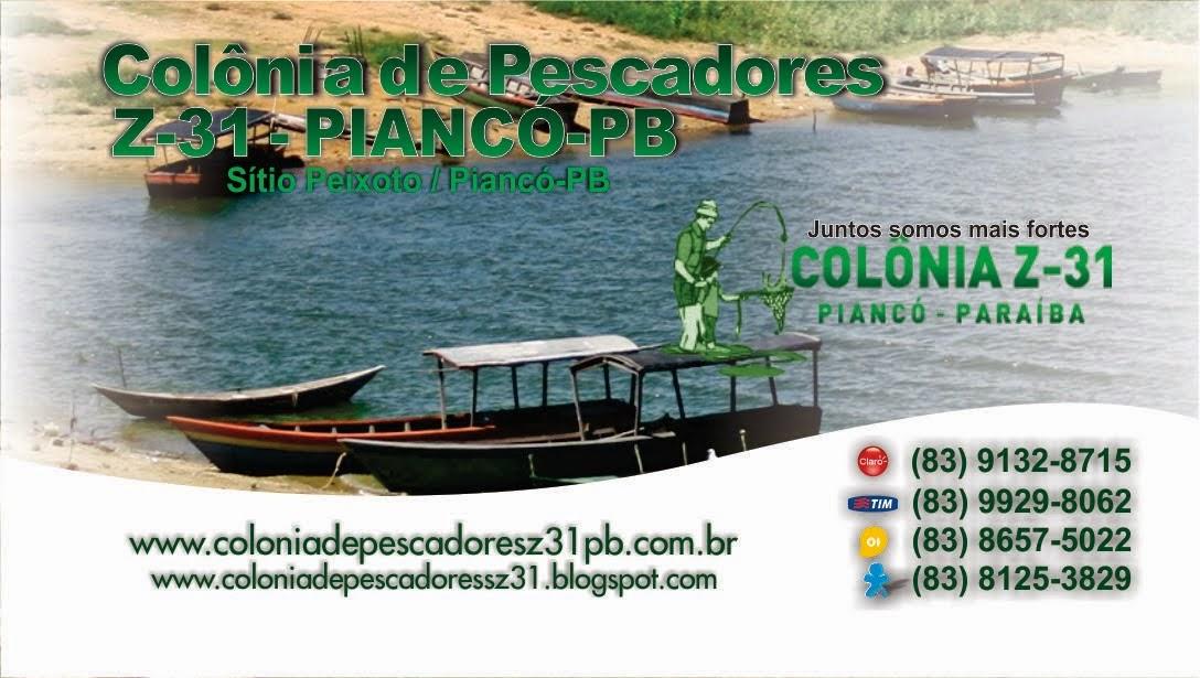 COLÔNIA DE PESCADORES Z-31 DE PIANCÓ