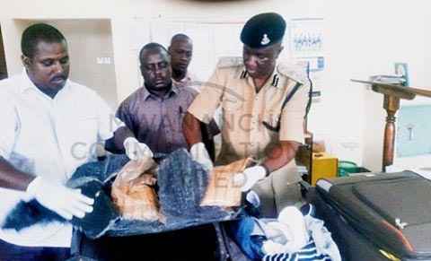 Nigerian Caught With Massive Haulage Of Cocaine In Tanzanian Airport On New Year's Day (Photo)