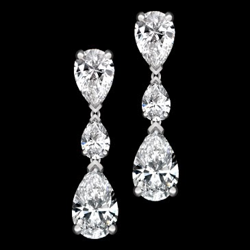 Beautiful Diamond Ear Drop Models