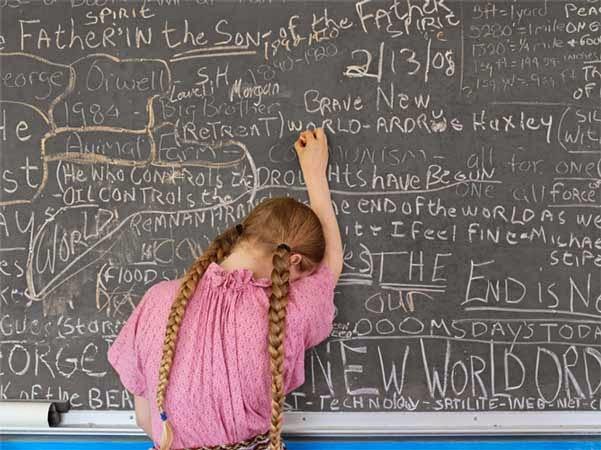 Lucas Foglis - Homeschooling Chalkboard, Tennessee 2008