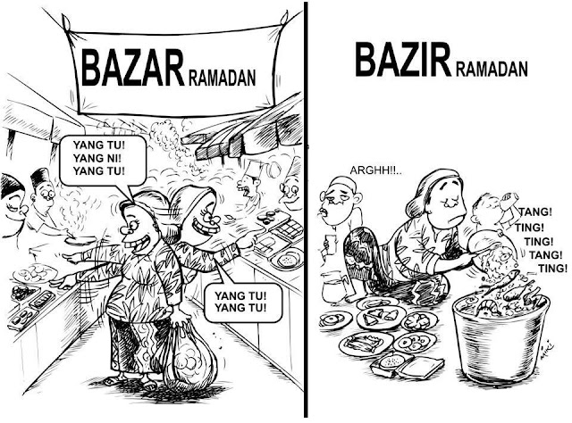 Pembaziran Makanan Bulan Ramadhan