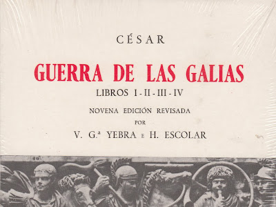 Guerra de las Galias: Libros I-II-III-IV