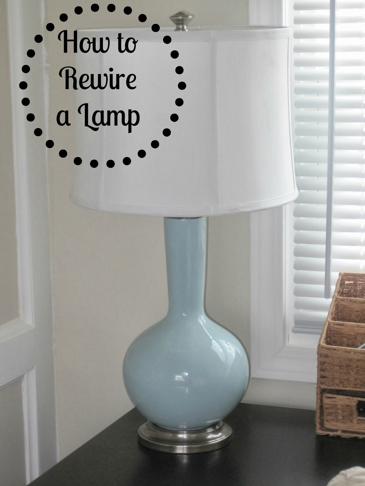 Restoration Hardware Lamp