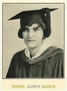 Jessie Agnes Rosen 1925