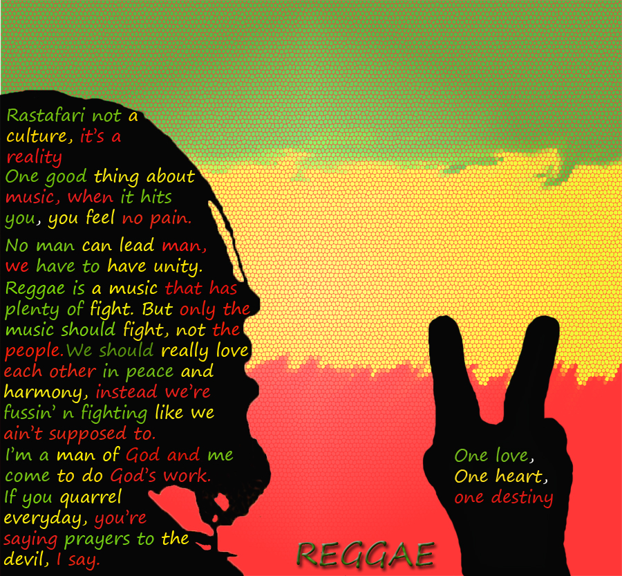 Jamaican Love Quotes For Him : Reggae Quotes. QuotesGram