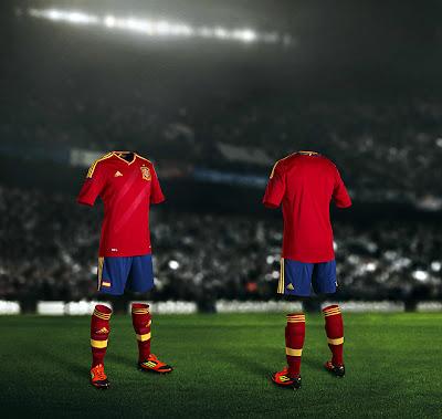 La Nueva Camiseta de España para la Eurocopa 2012
