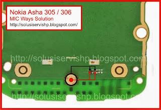 Nokia Asha 305 - 306 MIC Ways Solution