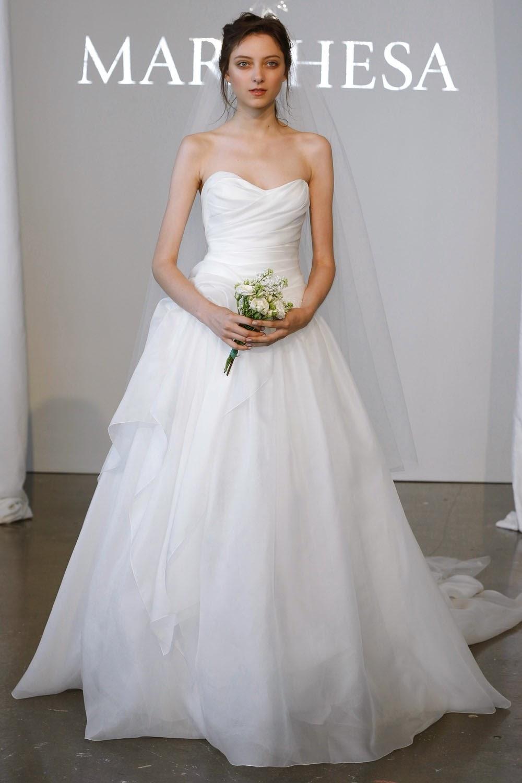 runway fall bridal york davids review