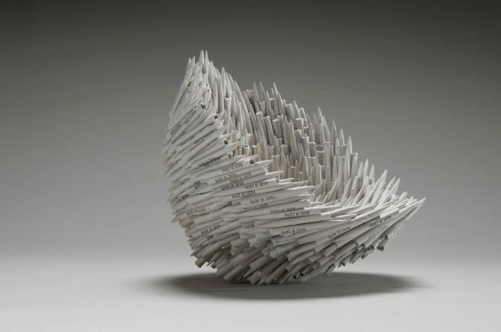 Of paper and things arts sculpture