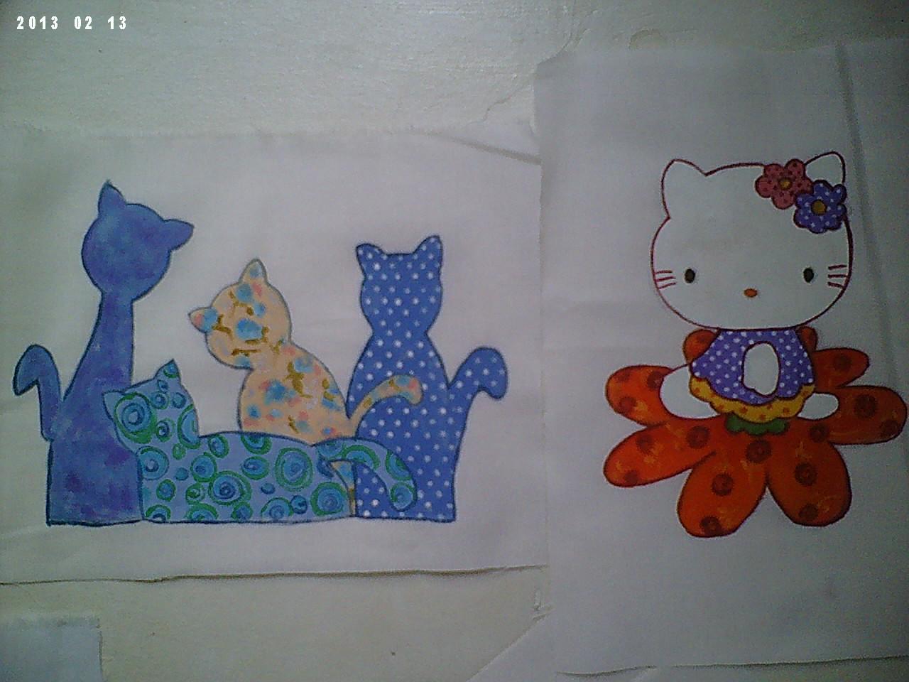 ... -3743(Tim)-Curitiba: outras pinturas em tecido comefeito patchaplique