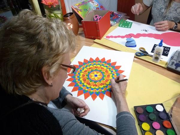 como pintar mandalas, taller de mandalas capital federal