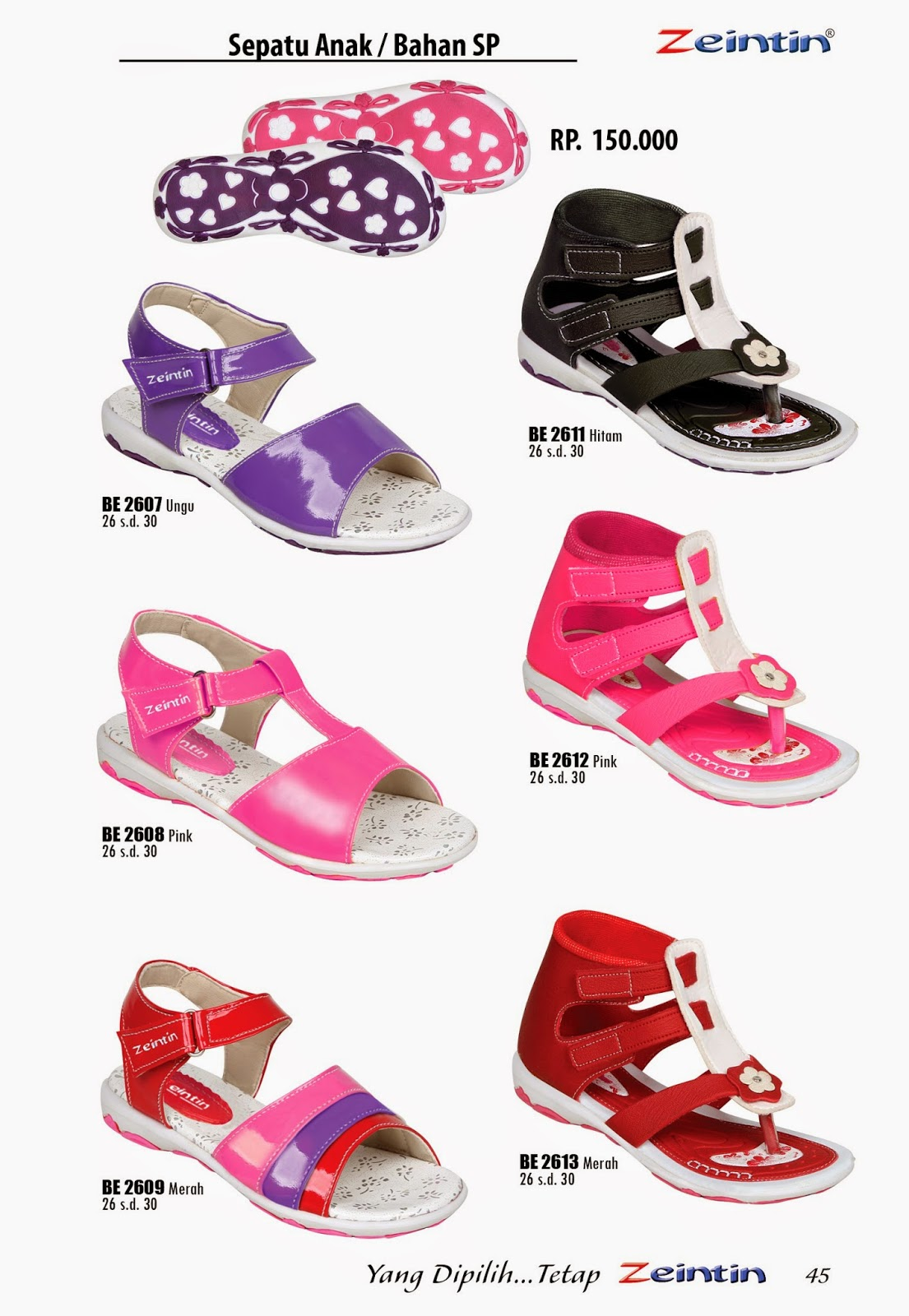Sandal Anak Wanita Zeintin Katalog Edisi Brilian 11