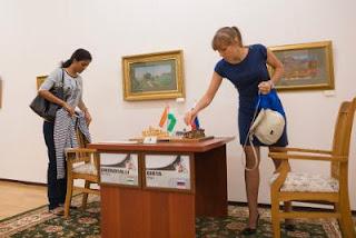 Echecs : Harika Dronavalli  1-0 Olga Girya - Tashkent R03 - Photos © Maria Emelianova