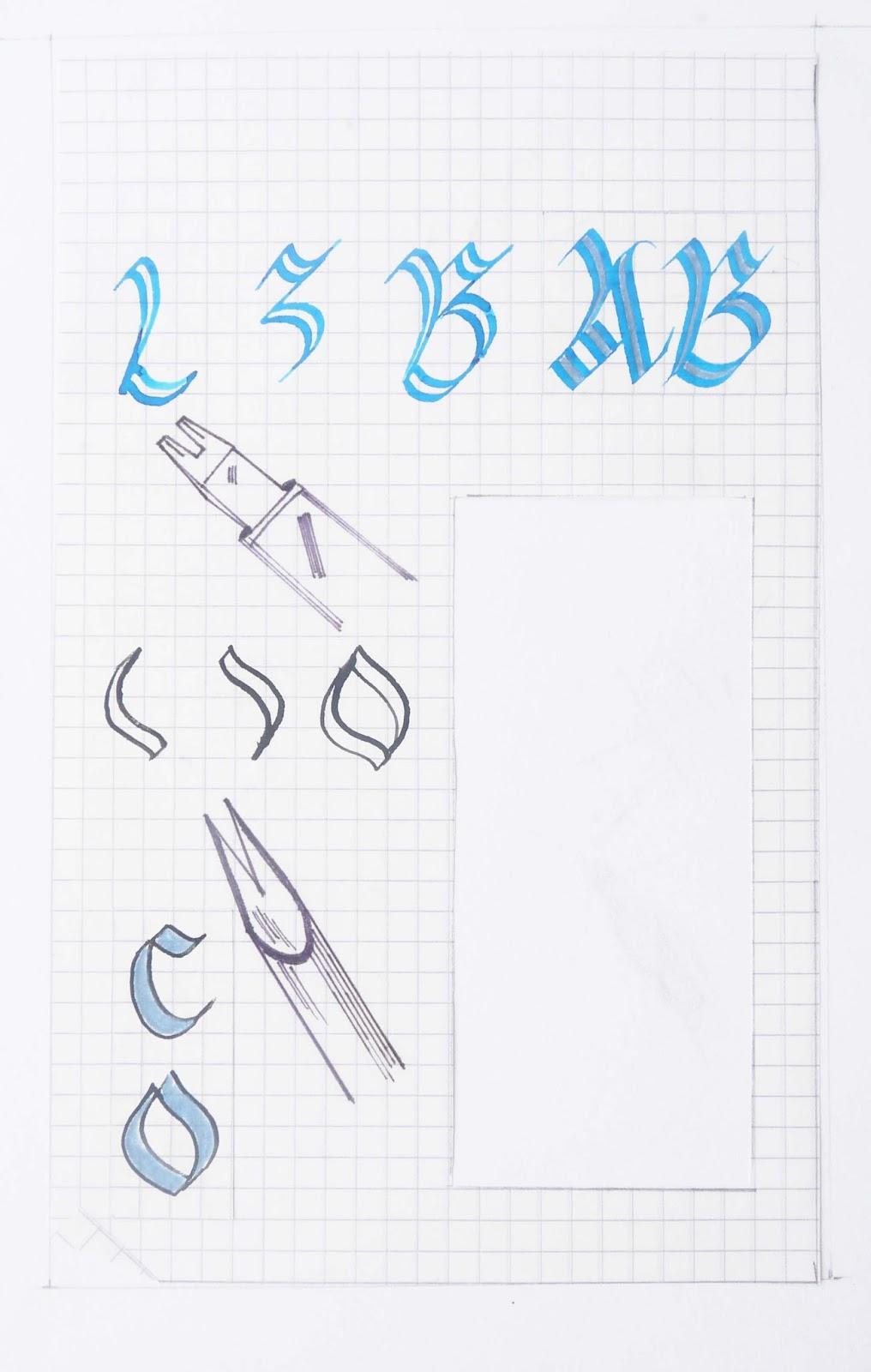 caligrafia, arte y diseño: junio 2013