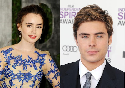 ZacEfron and Lily Collins Pictures