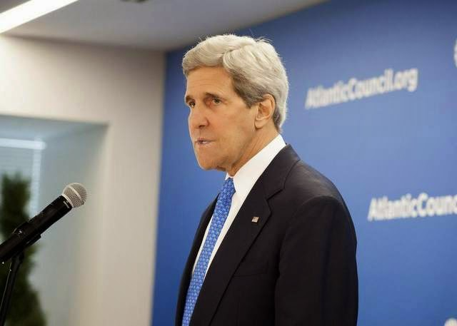 Military News - Kerry: Russia 'accelerating' Ukraine crisis