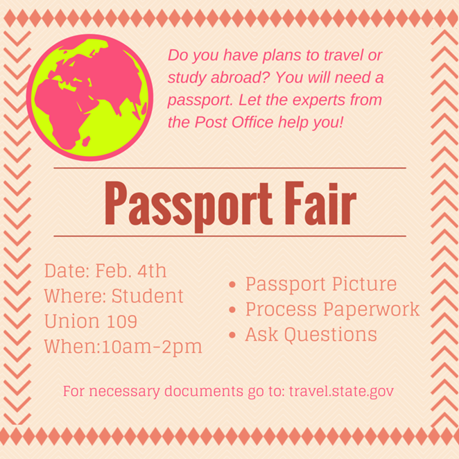 Passport Fair Flyer