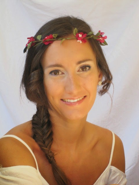 maquillaje de novia, natural, rosa, azul, vainilla, cazcarra