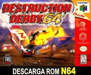 Destruction Derby 64 64 ROMs Nintendo64