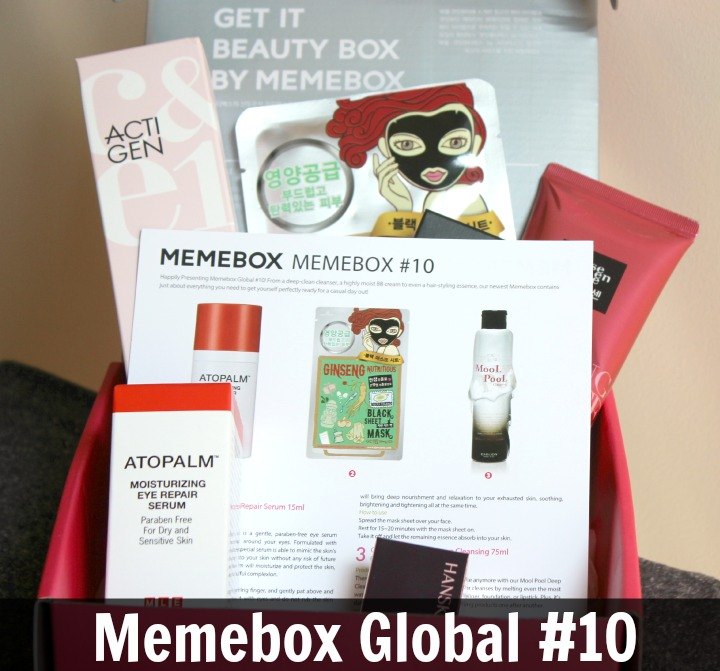 Memebox Global Edition #10 Review & Unboxing