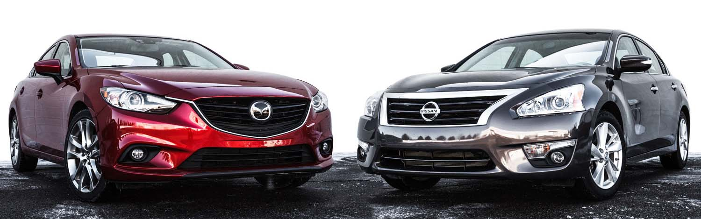 Nissan Altima 2012 & Honda Accord Sport 2014